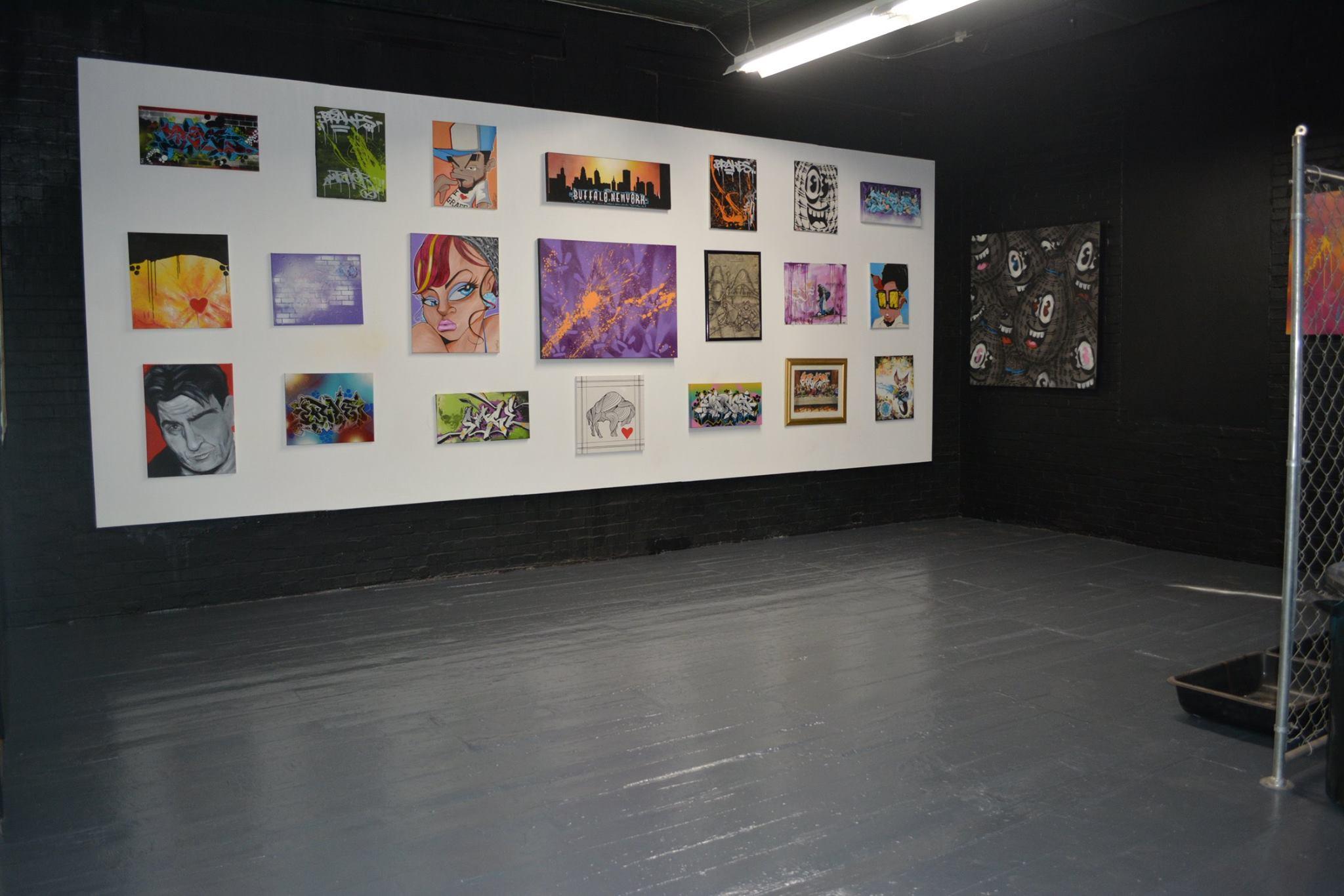 Daddy's garage buffalo art gallery
